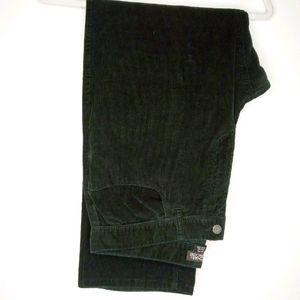 Men's Black Corduroy Pants - 34/30